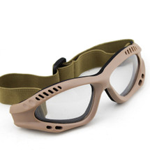 US Army Style Small Goggles in Tan