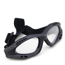 US Army Style Small Goggles in Black