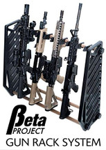 Beta project gun rack system