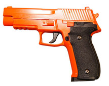 Galaxy G26 P226 Full Scale Metal pistol With Rail Orange