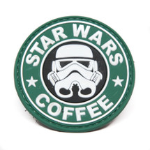StarWars & Coffee Tactical Patch in 3D