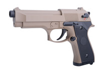 Cyma CM126 Electric Airsoft Pistol AEP in Tan