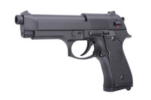 Cyma CM126 Electric Airsoft Pistol AEP in Black