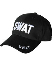 Kombat Baseball Cap S.W.A.T in Black