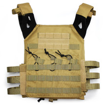 JPC Plate Carrier Tactical Vest in Tan