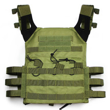 JPC Plate Carrier Tactical Vest in Olive Drab