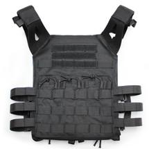JPC Plate Carrier Tactical Vest in Black