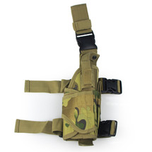 BV Tactical Drop Leg Holster in Multicam