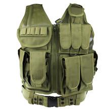 WoSport Tactical Mesh Vest in Olive Drab