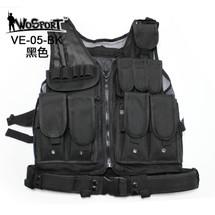 WoSport Mesh Vest in Black