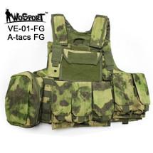 WoSport CIRAS Vest  900D Oxford Fabric A-tacs FG