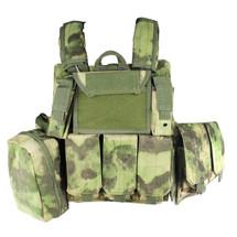 WoSport CIRAS Combat Vest in A-tacs FG Camo