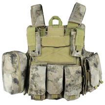 WoSport CIRAS Combat Vest in A-tacs Camo