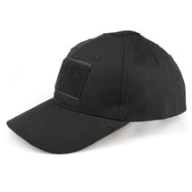 BV Tactical Baseball Cap / Army Hat V3 in Full Black