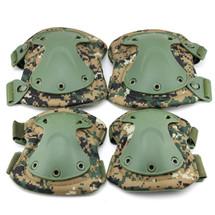 BV Tactical Safety Elbow & Knee Pad Set V3 D-woodland