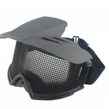 WoSport Desert Locust Mesh Goggles Include Sunshade in Black