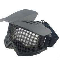 WoSport Desert Locust Mesh Goggles Include Sunshade in Black
