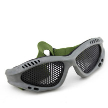 BV Tactical Small Mesh Goggles in Olive Green