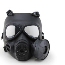 WoSport Air Filtration Gas Mask with Fan in Black