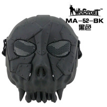 Wo Sport Warrior Skull Mask V1 in Black