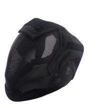 Wo Sport V6 Fencing Style Hood Full Head Mask in Black