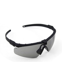 WoSport 2.0 Airsoft Glasses Black Frame With Black Lens