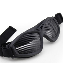 Wo Sport Large Mesh Airsoft Goggles in Black