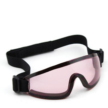 WoSport Adjustable Tactical Goggles in Pink