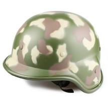 BV Tactical M88 helmet in woodland camo