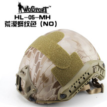 Wo Sport Airsoft FAST Helmet-MH Type in NOMAD Camo