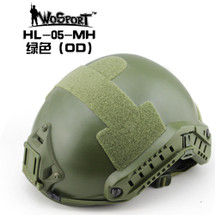Wo Sport Airsoft FAST Helmet-MH Type in Olive Drab