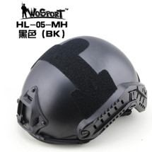 Wo Sport Airsoft FAST Helmet-MH Type in Black