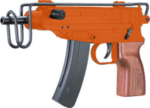 Double Eagle M37F VZ-61 Skorpion BB gun in orange