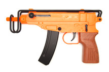 Double Eagle M37F VZ-61 Skorpion BB gun in orange