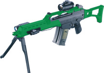 Double Eagle M41K folding stock and bipod in green