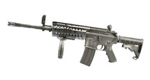 D|Boys M4 Full Metal with Tactical Stock in Black