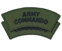 Army Commando Shoulder Flashes Pair