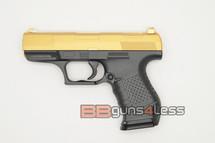 Galaxy G19 'P99' Full Metal Pistol BB Gun in Gold