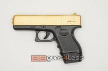 Galaxy G16 Full Metal Pistol BB Gun in Gold