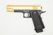 Galaxy G6 M1911 Full Metal Pistol BB Gun in gold