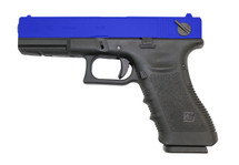 WE EU18 GEN 3 BLACK PISTOL IN BLUE