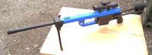 Galaxy G35 M200 Spring Powered Sniper Rifle in Blue