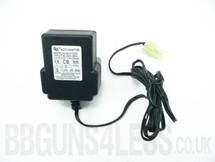 battery charger  240v 5.0v 100ma big tamiya plug