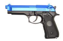 Y&P GC104 M92 Replica Co2 NBB Pistol in Blue