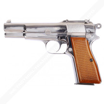 WE Browning Pistol Full Metal GBB in Silver