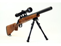 Well MB02 Spring Sniper Rifle with scope & bipod in Wood
