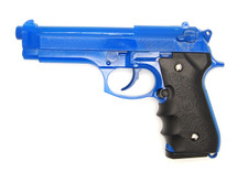 Dragon M9 Gas Blowback pistol in Blue