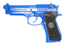 UHC M92F Electric Blowback pistol in blue