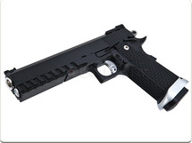 KJ Works HI-CAPA 5.1 Gas Pistol in Black