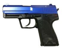 Y&P P8 Heavy Weight Blue Spring Pistol